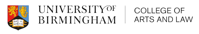 University of Birmingham (College of Arts and Law) logo